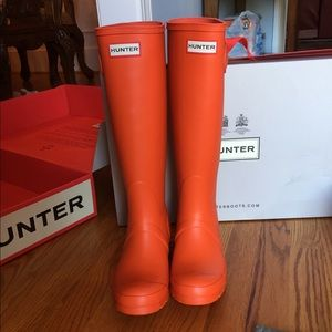 Authentic new Hunter boots